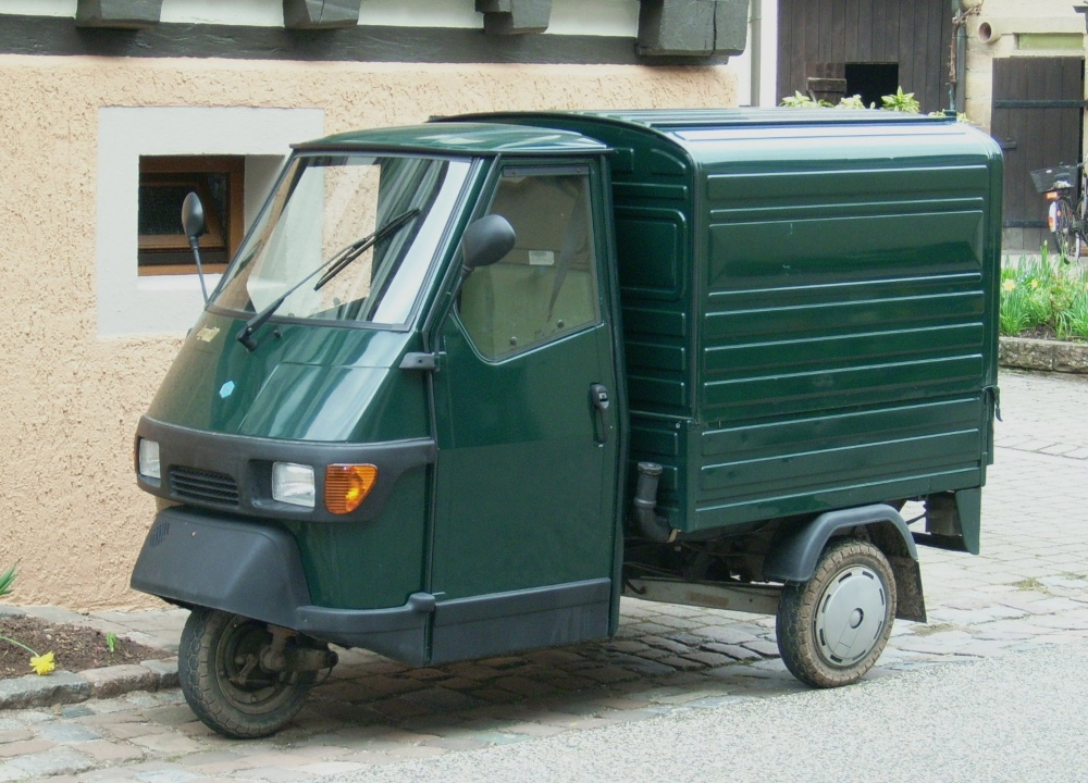 Piaggio Ape Kastenwagen