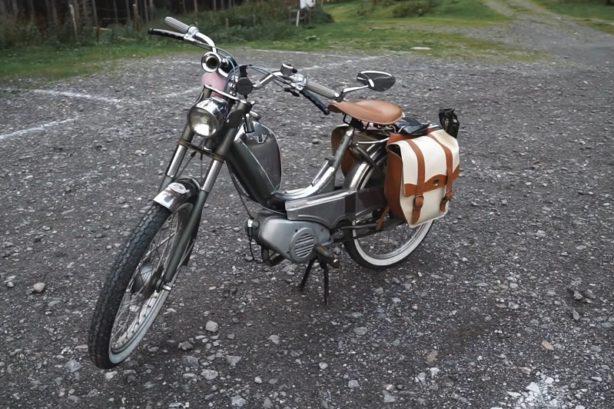 Mofa mit Packtasche - Packliste für die Mofa Ausfahrt