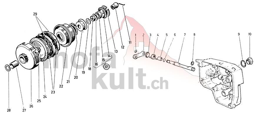 X30 2-Gang Handschaltung