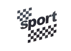 "Tankkleber ""sport"" schwarz"