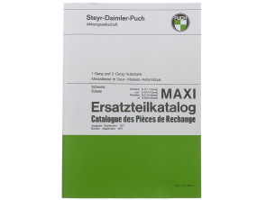 Ersatzteilkatalog Puch Maxi S, N, S-2A (CH)