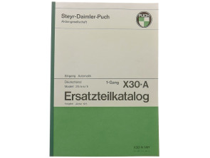Ersatzteilkatalog Puch X30-A (DE)
