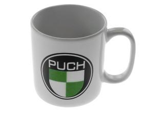 Tasse Puch weiss Porzellan