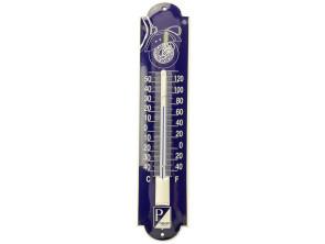 Piaggio Emaille Thermometer