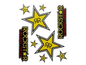 "Werbekleber ""RockStar"""