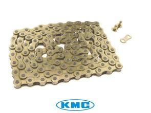 KMC Tretkette gold universal