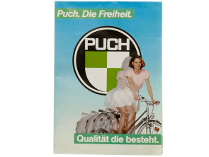 Puch Fahrrad Poster A1 NOS