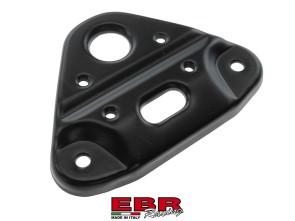 Gabelplatte EBR schwarz Standardgabel