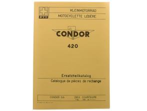 Ersatzteilkatalog Condor PTT Kleinmotorrad Typ 420