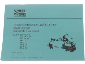 Sachs 505/2 Reparaturanleitung
