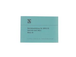 Betriebsanleitung Sachs 50/2 (Zweigang)