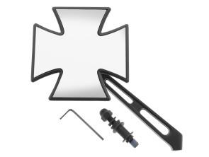 Iron Cross Spiegel schwarz
