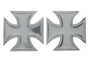 Iron Cross Gel-Klebersatz Chrom