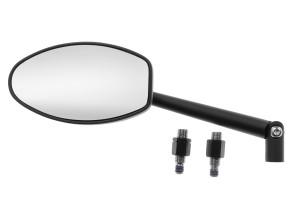 Spiegel Ferrera schwarz links / rechts verwendbar