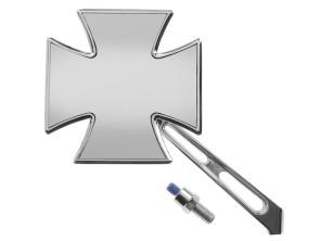 Iron Cross Spiegel Chrom links *1A-Qualität*