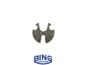 Halteplättchen Nadel Bing SRA Vergaser