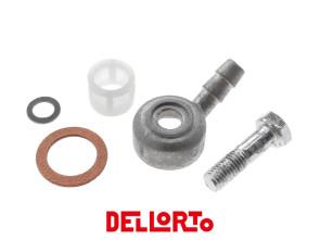 Benzinanschluss 30° Dell'Orto SHA 7 - 13 mm