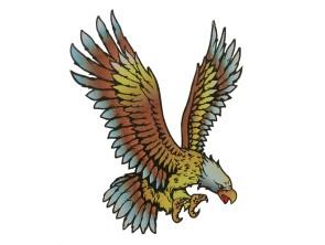 "Aufkleber ""Eagle"" (85x105 mm)"