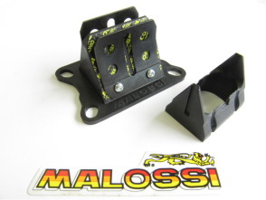 4-Klappmembran-Einsatz Carbon Malossi Italkit Puch