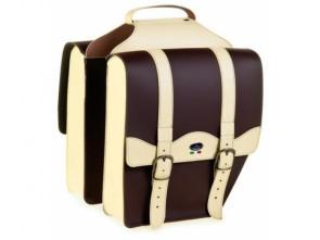 Gepäcktasche Classic braun/creme