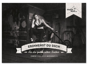 Blechschild Lola *silver edition*