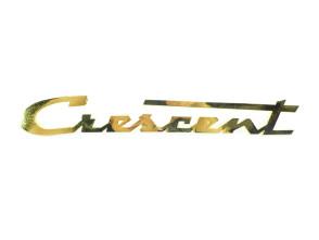 """""""Crescent"""" Messingschriftzug"""