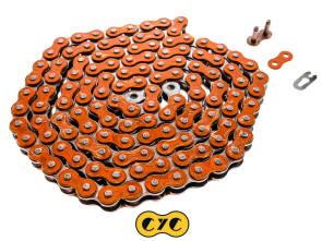 Antriebskette CYC metallic orange 415H (verstärkt) 128L