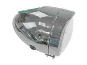 Eierlampe Ø103 mm chrom (seitliche Bef.)