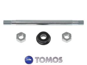 Set Radachse hinten M11x165 mm Tomos Quadro