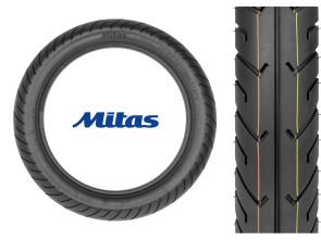 "Mitas Pneu 3.25 x 16"" MC2 (Semi-Slick)"
