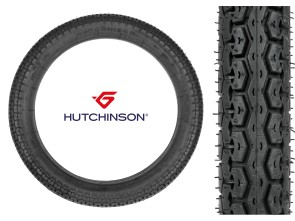 "Hutchinson Pneu 2.75 x 17"" Turbo TT"