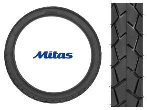 "Mitas Pneu 2.25 x 17"" MC11 (Semi-Slick)"