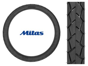 "Mitas Pneu 2.00 x 17"" MC11 (Semi-Slick)"