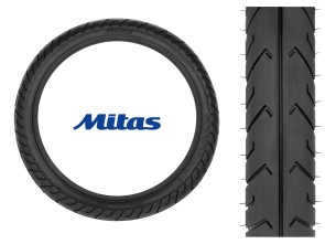 "Mitas Pneu 2.25 x 16"" MC2 (Semi-Slick)"