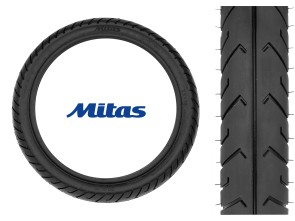 "Mitas Pneu 2.50 x 16"" MC2 (Semi-Slick)"