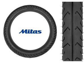 "Mitas Pneu 2.75 x 16"" MC2 (Semi-Slick)"