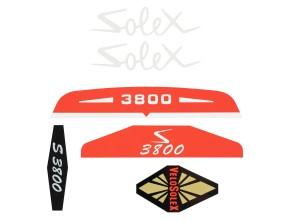 Klebersatz Solex 3800
