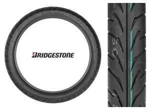 """Pneu Bridgestone 80/90 - 17"""" TL 44S"""