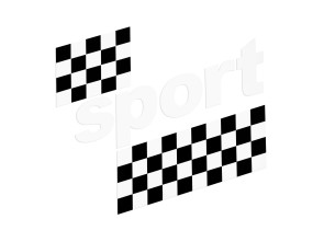"Tankkleber Puch X30 ""sport"" weiss (original)"