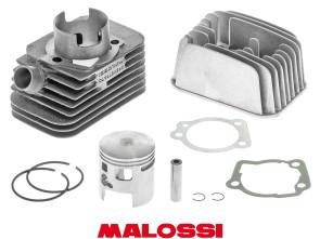 Malossi Ø 46.5 mm Rennsatz inkl. Kopf, Piaggio Ciao (axe 12mm)