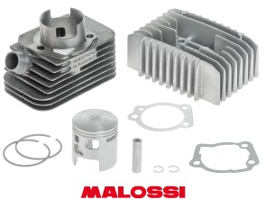 Malossi Ø46.5 mm Rennsatz inkl. Kopf, Piaggio Si (axe 10mm)