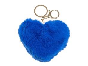 Fellbommel Herz blau