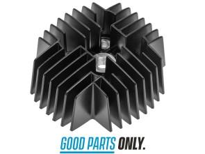 45 mm Zylinderkopf Puch Tuning (Maxi S, N | X30 NS, NL, N-2AH) schwarz
