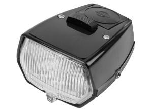 Scheinwerfer NIOX eckig schwarz mit Schalter (NOS)