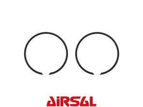 Kolbenringset Airsal 38x1.5 mm Tomos schwarz