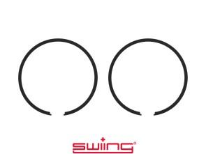 swiing Kolbenringe Ø44 x 1.5 mm Puch schwarz (Paar)