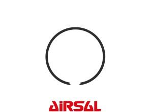Kolbenring Airsal 45x1.5 mm Puch schwarz