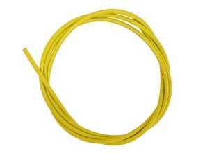 Kabelhülle Ø 5 mm gelb (per Meter) Teflon-Innenhülle