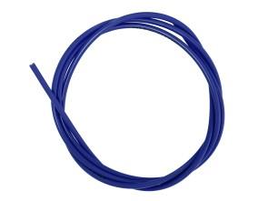 Kabelhülle Ø 5 mm blau (per Meter) Teflon-Innenhülle