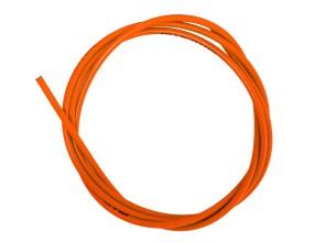 Kabelhülle Ø 5 mm orange (per Meter) Teflon-Innenhülle